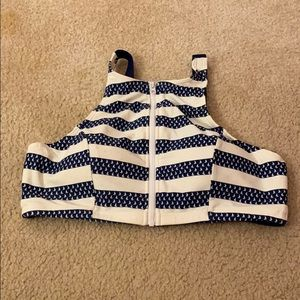 Never worn Sailboat bathing suit top!